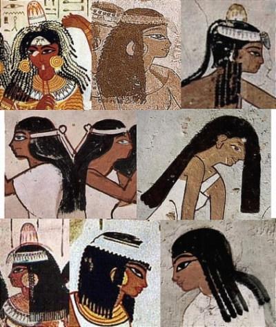 Древнеегипетские женщины