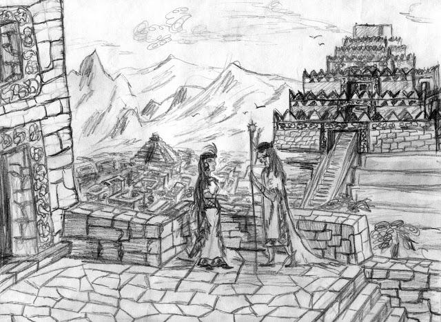 Индейский город