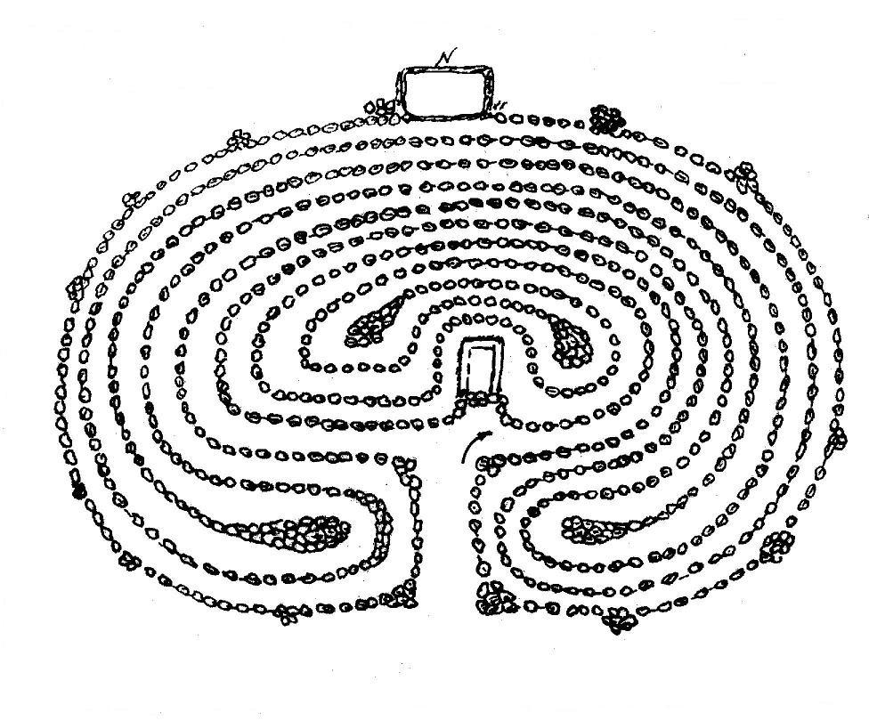 Северный лабиринт схема